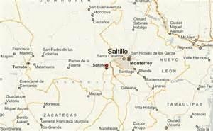 Saltillo Mexico Map by Map Of Saltillo Mexico Images