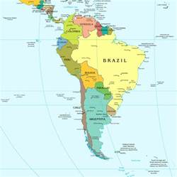 south america large political map large political map of