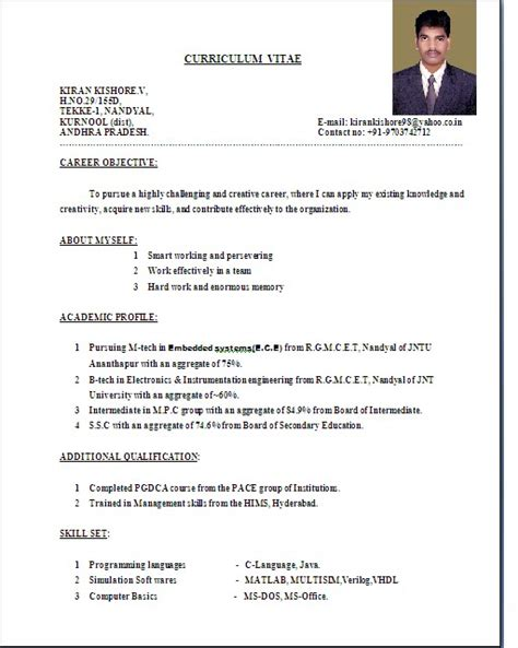 awesome collection of international standard cv format pdf awesome