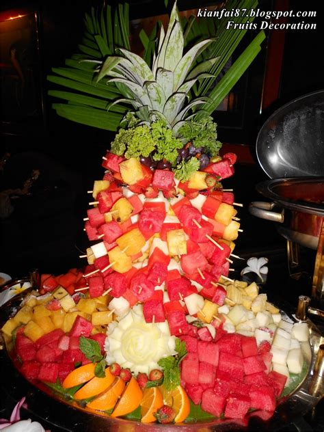 Fruit For Decoration by Kianfai87 On Playrole Villa Wedding Travel Fair