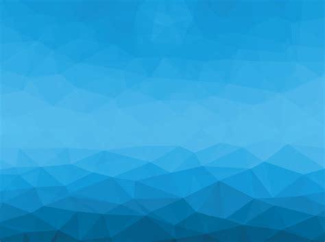 Free Blue Geometric / Polygon Background Vector #5   TitanUI
