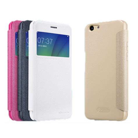Nillkin Oppo A39 nillkin smart window view leather for oppo a57 a39