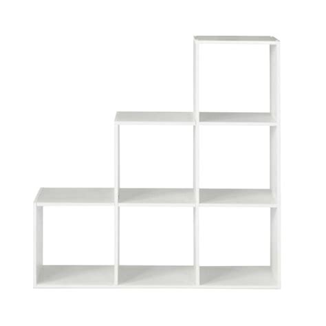 Closetmaid 2 Cube Organizer White closetmaid 36 in w x 36 in h white 3 2 1 cube organizer 12254 the home depot