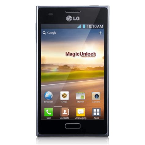 Lg L Bell bell lg optimus l5 unlock code phone unlocking shop