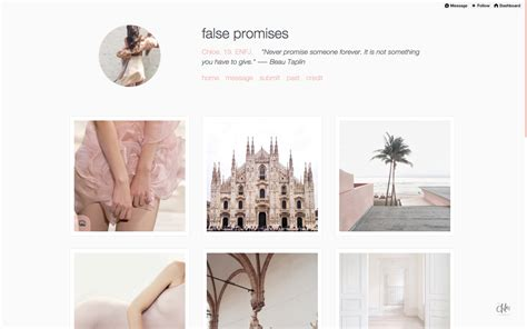 tumblr themes free instagram theme references