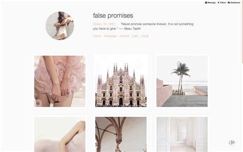 tumblr themes large posts theme references