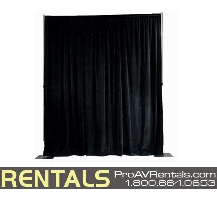 pipe drape rental rent pipe drape tradeshow backdrapes theater