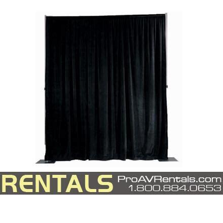 pipe drape rental rent pipe drape tradeshow backdrapes theater