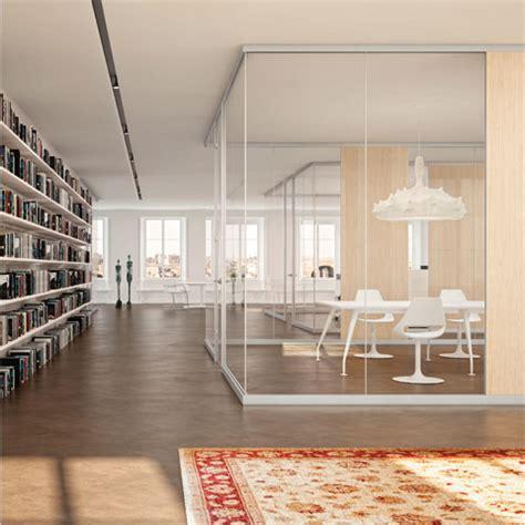 pareti modulari per uffici pareti divisorie per ufficio in vetro