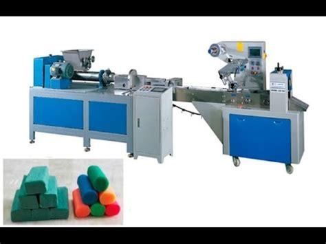 Dough Extrudor automatic fondant sugar paste play dough packing machine