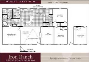 single wide mobile home floor plans 2 bedroom cavco homes wides manufactured homes modular