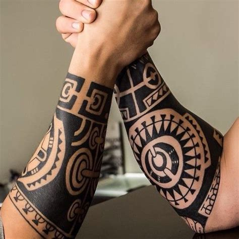 10 ideas about tribal forearm tattoos on pinterest