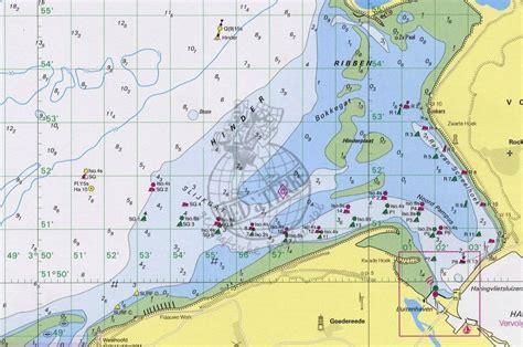 vaarbewijs suriname 1810 ijsselmeer met randmeren hydrografische kaart