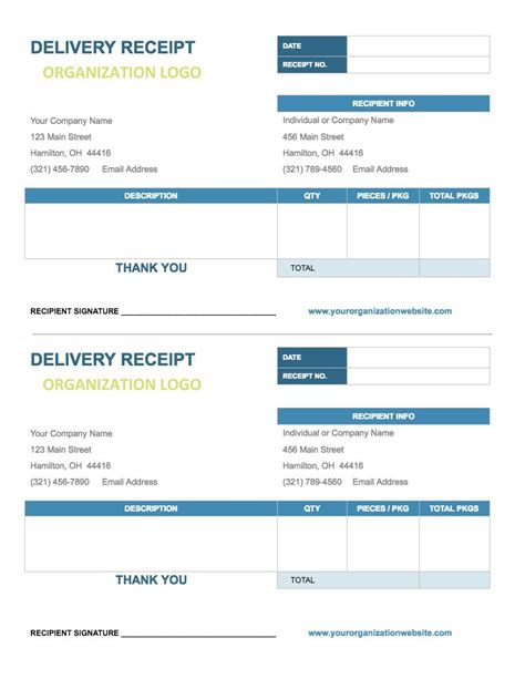 receipt template docs receipt template docs receipt template