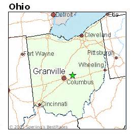 Granville Ohio Map by Best Places To Live In Granville Ohio