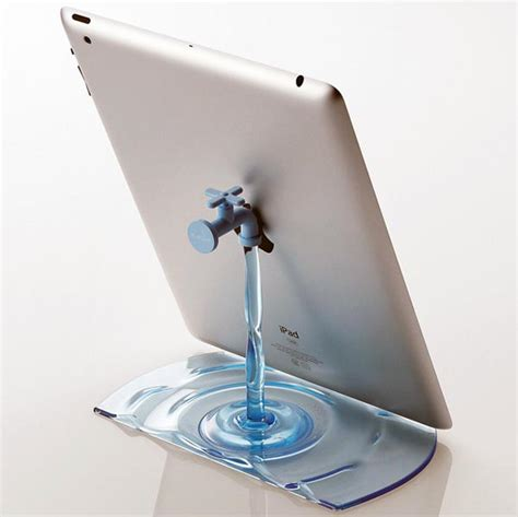 Running Faucet by Running Water Faucet Iphone Stand Craziest Gadgets