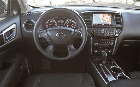 nissan pathfinder 2015 interior first look 2013 nissan pathfinder automobile magazine