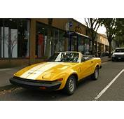 OLD PARKED CARS 1980 Triumph TR7 30th Anniversary Edition