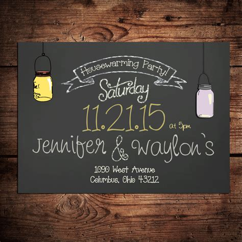 items similar to housewarming party invitation on