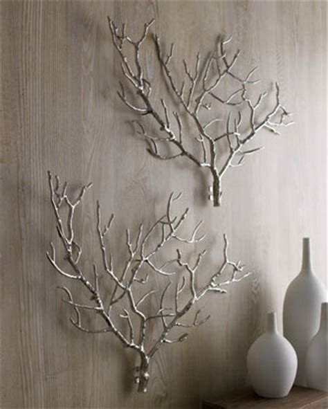 modern wall decor accessories arteriors tree branch wall decor modern home decor