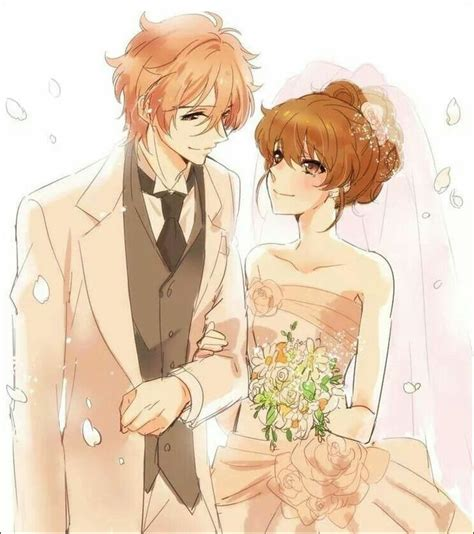 fuuto brothers conflict brothers conflict futo and ema s wedding anime