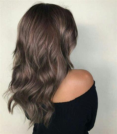 metallic hair color dusty metallic brown hair h a i r s t y l e s
