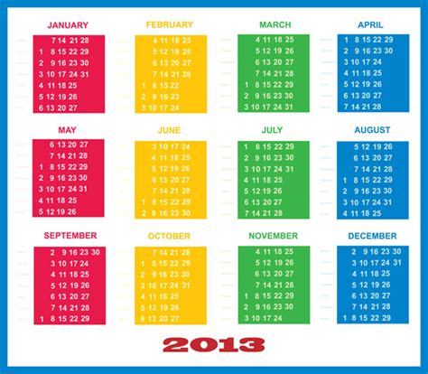 digital calendar template 2013 digital calendar template calendar template 2016