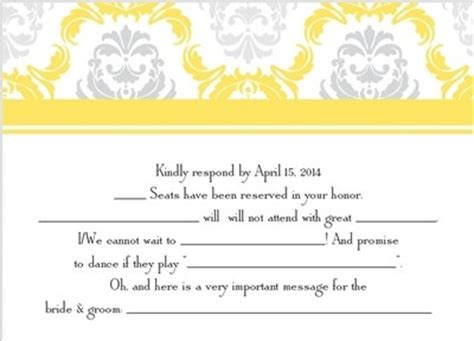 Weddingwire Rsvp by Mad Libs Rsvp Weddings Stuff Etiquette And Advice