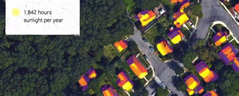 google s project sunroof aims to make it easier for you to google s project sunroof tells you how much solar energy