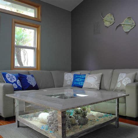 Coastal Themed Living Room Modern Living Room San