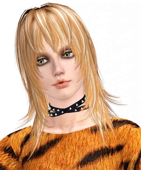 island hair styles the island fringe hairstyle by kijiko sims 3 hairs