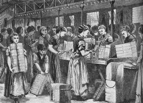 industrial revolution girls hairstyles matchsticks once sickened and deformed women and children
