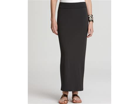 black maxi pencil skirt redskirtz