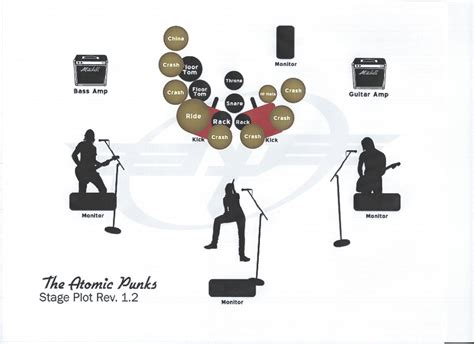 stage layout maker atomicpunks music zirconia tribute bands