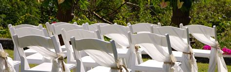 Renting Chairs For A Wedding Event Equipment Wedding Supplies From Ellco Rentals