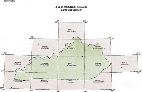 kentucky map latitude longitude kentucky topographic index maps ky state usgs topo quads