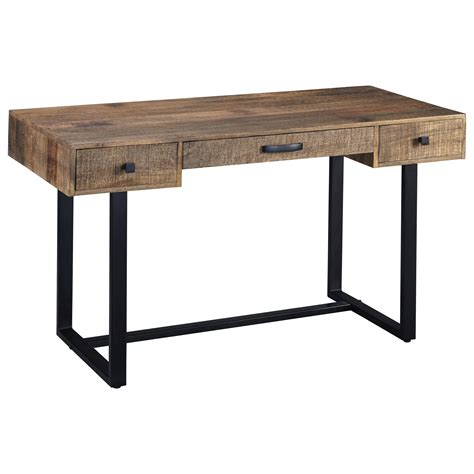 ashley furniture desks home office signature design by ashley viganni h640 26 mango wood