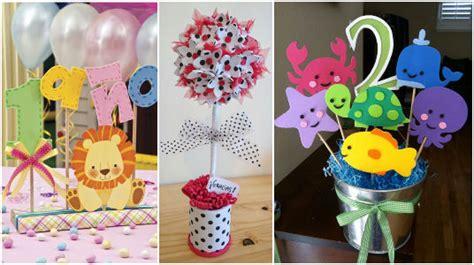 bonitas ideas para hacer centros de mesa con foami goma