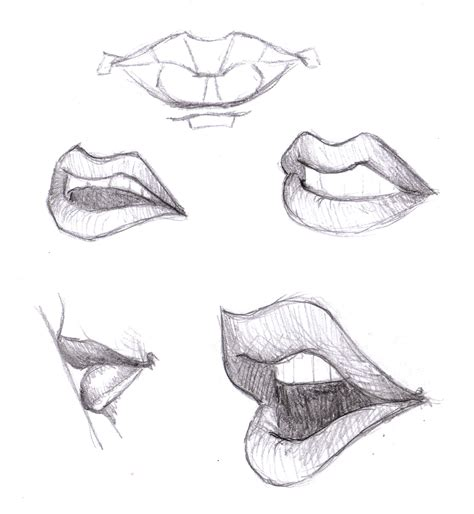 Drawing Mouths by Magellin April 2012