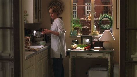 Meg Ryan's brownstone kitchen You've Got Mail   Hooked on