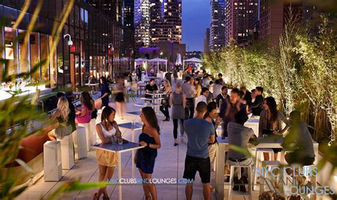 rooftop at yotel hotel nyc nyc clubs and lounges