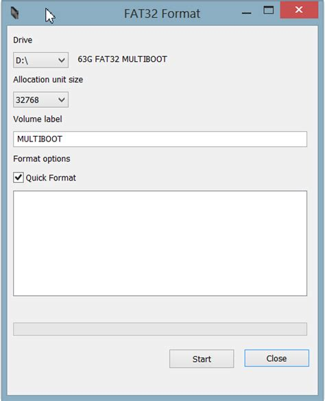 fat32 gui format allocation unit size tutorial how to build the ultimate bootable custom usb