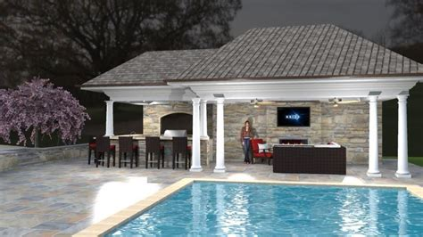 pool cabana designs pool cabana outdoor room pools pinterest