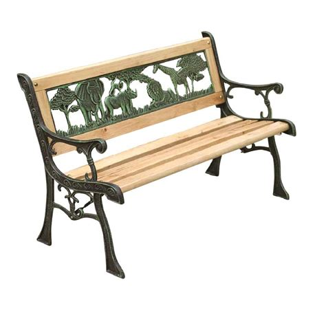 childs park bench kids wooden garden bench 82cm on sale fast delivery