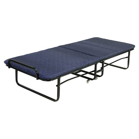 Folding Bed Foam Mattress Twin Roll Away Guest Portable Portable Bed
