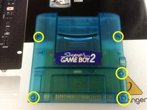 super gameboy mod super gameboy 2 audio mod ωnωnω