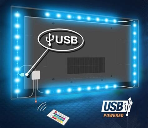 tv back lighting dc5v led 5050 usb led lights