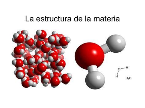 la estructura de la la estructura de la materia