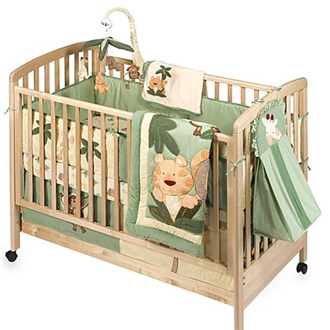 Buy Nojo 174 Jungle Babies 6 Piece 100 Cotton Crib Bedding Nojo Jungle Crib Bedding