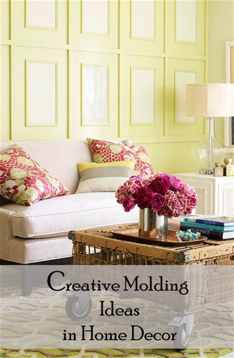 creative idea for home decoration creative molding ideas in home decor